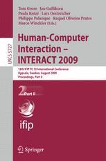 Human-Computer Interaction – INTERACT 2009
