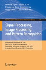 Signal Processing, Image Processing and Pattern Recognition