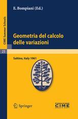Geometria del calcolo delle variazioni