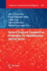 Nature Inspired Cooperative Strategies for Optimization (NICSO 2010)
