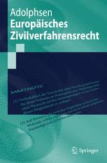 Europäisches Zivilverfahrensrecht