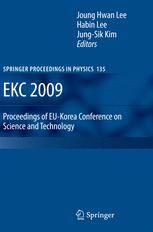 EKC 2009 Proceedings of the EU-Korea Conference on Science and Technology