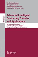 Advanced Intelligent Computing Theories and Applications