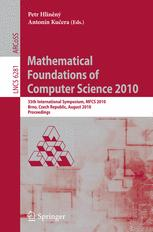 Mathematical Foundations of Computer Science 2010