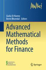 Advanced Mathematical Methods for Finance