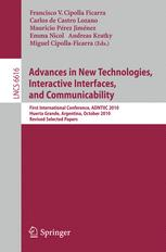 Advances in New Technologies, Interactive Interfaces, and Communicability