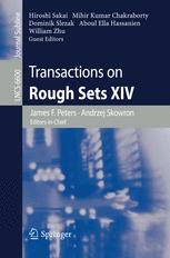 Transactions on Rough Sets XIV