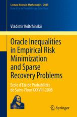 Oracle Inequalities in Empirical Risk Minimization and Sparse Recovery Problems