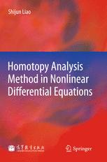 Homotopy Analysis Method in Nonlinear Differential Equations