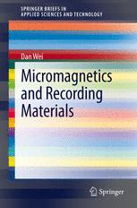 Micromagnetics and Recording Materials
