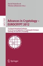 Advances in Cryptology – EUROCRYPT 2012