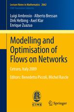 Modelling and Optimisation of Flows on Networks