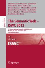 The Semantic Web – ISWC 2012