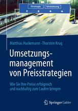 Umsetzungsmanagement von Preisstrategien