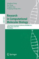 Research in Computational Molecular Biology