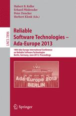 Reliable Software Technologies – Ada-Europe 2013