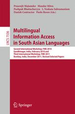 Multilingual Information Access in South Asian Languages