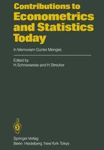 Contributions to Econometrics and Statistics Today