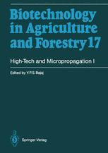 High-Tech and Micropropagation I