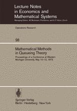 Mathematical Methods in Queueing Theory