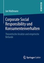 Corporate Social Responsibility und Konsumentenverhalten