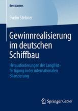 Gewinnrealisierung im deutschen Schiffbau
