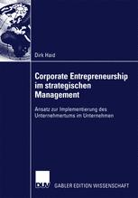 Corporate Entrepreneurship im strategischen Management