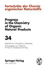Fortschritte der Chemie Organischer Naturstoffe / Progress in the Chemistry of Organic Natural Products