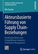 Akteursbasierte Führung von Supply Chain-Beziehungen