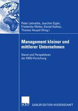 Management kleiner und mittlerer Unternehmen