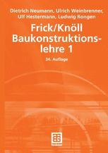 Frick/Knöll Baukonstructionslehre 1