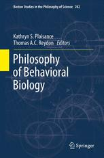 Philosophy of Behavioral Biology