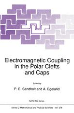 Electromagnetic Coupling in the Polar Clefts and Caps