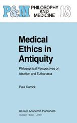 Medical Ethics in Antiquity