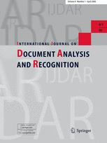 International Journal of Document Analysis and Recognition (IJDAR)