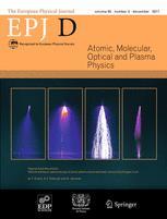 The European Physical Journal D