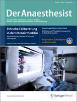 springer der anaesthesist online Der anästhesist online von springer verlag, d-heidelberg günstig abonnieren der anaesthesist ist ein international angesehenes publikationsorgan.