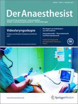 der anaesthesist journal