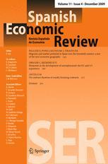 Spanish Economic Review