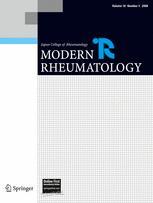 Modern Rheumatology
