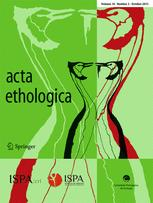 acta ethologica