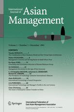 International Journal of Asian Management