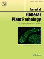 Journal of General Plant Pathology