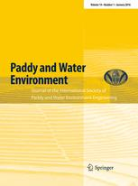 Paddy and Water Environment