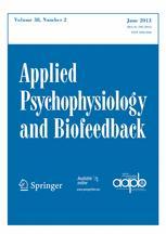 Applied Psychophysiology and Biofeedback