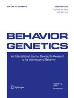 Behavior Genetics