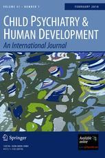 Child Psychiatry & Human Development