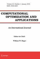 Computational Optimization and Applications