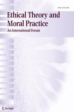 Ethical Theory & Moral Practice