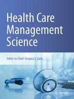 Health Care Management Science